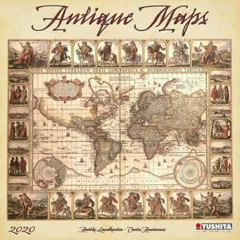 Календар 2020  Antique Maps