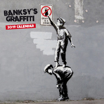 Календар 2019  Banksy - Graffiti
