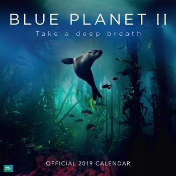 Календар 2019  BBC Blue Planet