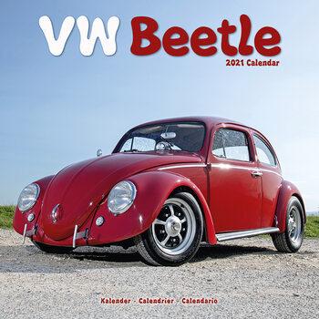 Календар 2021 Beetle (VW)