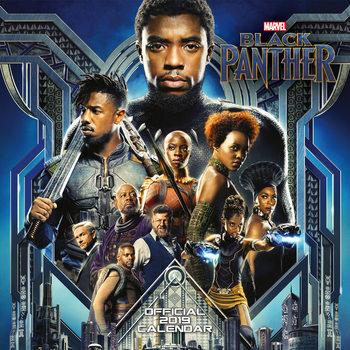 Календар 2019  Black Panther