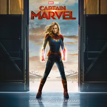 Календар 2020  Captain Marvel