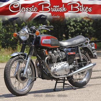 Календар 2021 Classic British Bikes