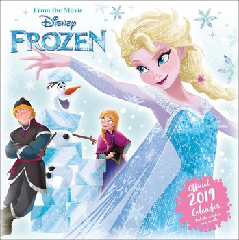 Календар 2019  Disney Frozen