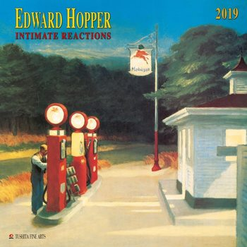 Календар 2019  E. Hopper- Intimate Reactions
