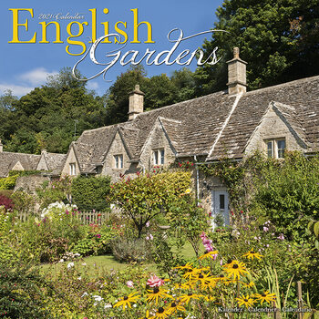 Календар 2021 English Gardens