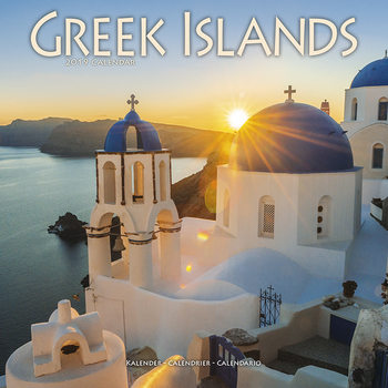 Календар 2019  Greek Islands