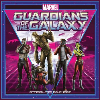 Календар 2019  Guardians Of The Galaxy