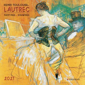 Календар 2021 Henri Toulouse-Lautrec