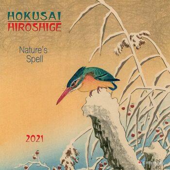 Календар 2021 Hokusai/Hiroshige - Nature