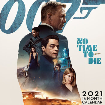 Календар 2021 James Bond - No Time to Die