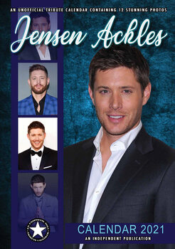 Календар 2021 Jensen Ackles