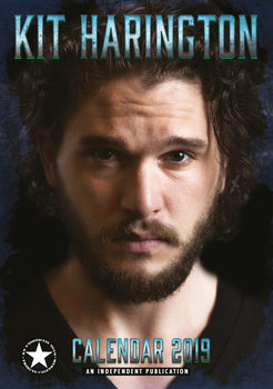 Календар 2019  Kit Harington