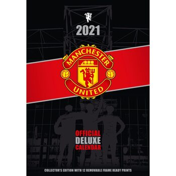 Календар 2021 Manchaster United FC - Deluxe