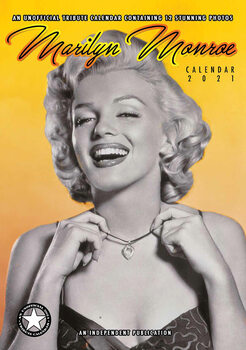 Календар 2021 Marilyn Monroe