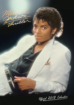 Календар 2018 Michael Jackson