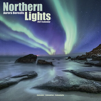 Календар 2021 Northern Lights