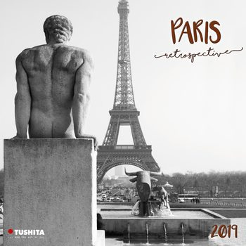 Календар 2020  Paris Retrospective