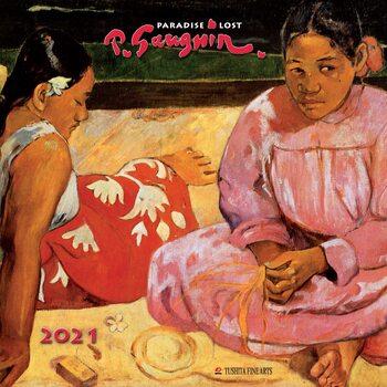Календар 2021 Paul Gauguin - Paradise Lost