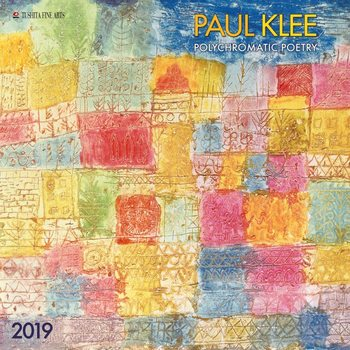 Календар 2019  Paul Klee - Polychromatic Poetry