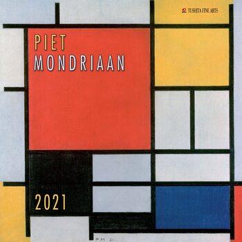 Календар 2021 Piet Mondriaan