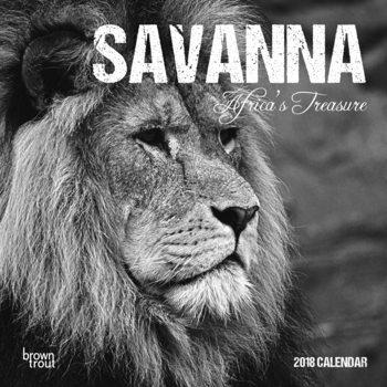 Календар 2018  Savanna