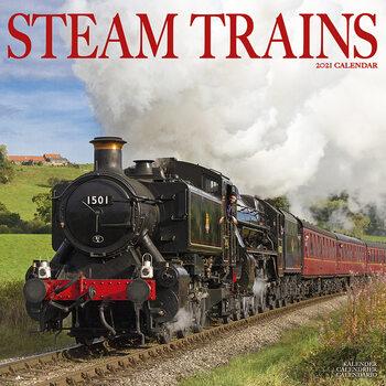 Календар 2021 Steam Trains