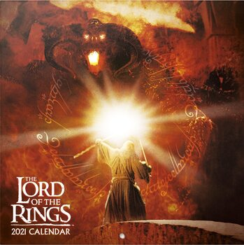 Календар 2021 The Lord Of The Ring