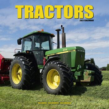 Календар 2021 Tractors