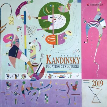 Календар 2019  W.Kandinsky - Floating Structures
