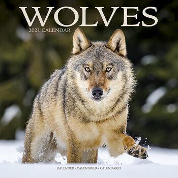 Календар 2021 Wolves