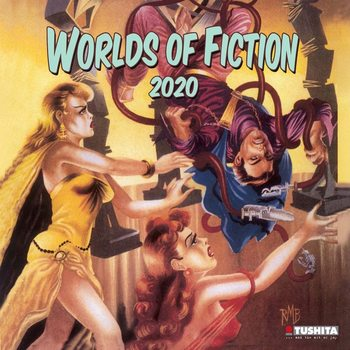 Календар 2020  Worlds of Fiction