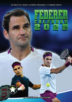 Календар 2022 Roger Federer