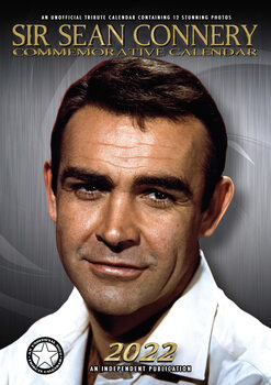 Календар 2022 Sean Connery