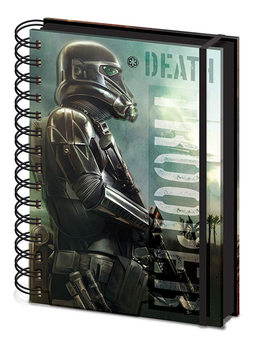 Rogue One: Star Wars Story - Death Trooper A5 Notebook/Канцеларски Принадлежности
