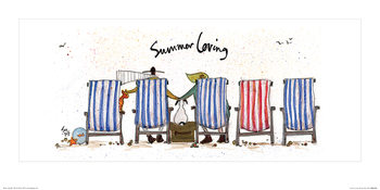 Sam Toft - Summer Loving Картина