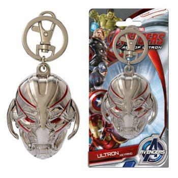 Avengers - Ultron Head Ключодържатели - гумени