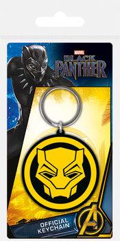 Black Panther - Logo Ключодържатели - гумени
