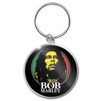 Bob Marley – Logo Face Ключодържатели - гумени