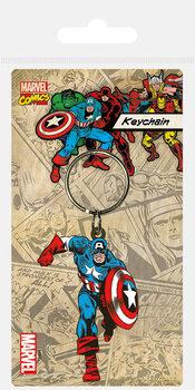 Captain America Ключодържатели - гумени