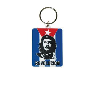 CHE GUEVARA - flag Ключодържатели - гумени