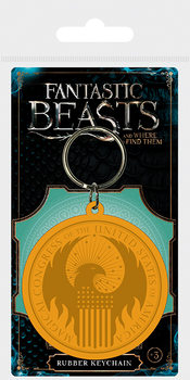 Fantastic Beasts And Where To Find Them - MACUSA Logo Ключодържатели - гумени
