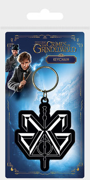 Fantastic Beasts The Crimes Of Grindelwald - Grindelwald Logo Ключодържатели - гумени