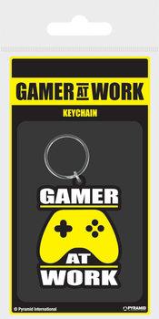 Gamer At Work - Joypad Ключодържатели - гумени