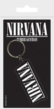 Nirvana - Logo Ключодържатели - гумени