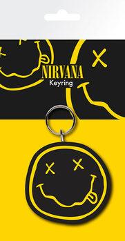Nirvana - Smiley Ключодържатели - гумени
