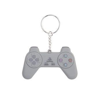 PlayStation - Grey Controller Ключодържатели - гумени