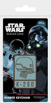 Rogue One: Star Wars Story - K-2S0 Ключодържатели - гумени