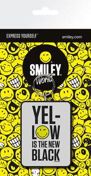 Smiley - Yellow is the New Black Ключодържатели - гумени
