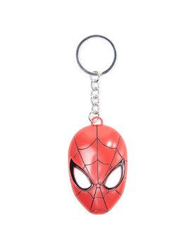 Spiderman - 3D Metal Mask Ключодържатели - гумени